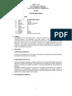 Silabo Gestion Empresarial I