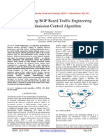 AMPLE Using BGP Based Traffic Engineering