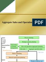 Aggregate Planning- OM