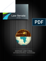 Law Senate Brochure