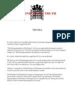 Intro Elected Representatives (Prohibition of Deception) Bill v2