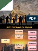 3rdQuarter 2013_Lesson_07 Unity the Bond of Revival