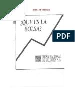 Material de La Bolsa Nacional de Valores CR