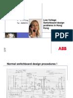 LV SwBd Design Problem