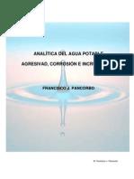 Analitica Del Agua Potable. Agresividad Corrosion e Incrustaciones