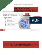 Trabajo Dirección Comercial - Lubrinegocios