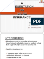 Ppt Micro Insurance-1 New