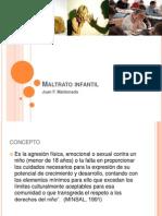 Maltrato Infantil, 2013. JM