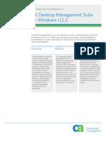 CA Desktop Management System