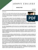 Newsletter 4 Trinity Term 2013