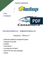 An introduction to Apache Cassandra