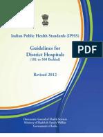 District Hospital 2012 Revised