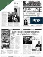Versión impresa del periódico El mexiquense  13 agosto 2013