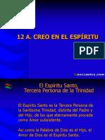 12 El Epiritu Santo