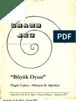 Büyük Oyun - Ozgur Uckan & Huseyin Alptekin Kitap-lik, 1997