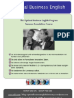 Optimal Business English System Summer Foundation Courses