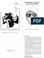 IndustrialSocietyAndItsFuture TheUnabombersManifesto Text
