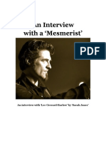 Interview with a Mesmerist