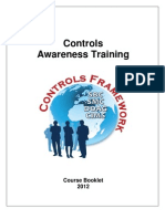 2012 - Controls Awareness Training - Course Booklet