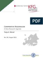 Comparative Regionalism. A New Research Agenda
