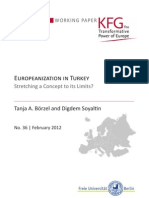 Europeanization in Turkey. Stretching a Concept to its Limits?