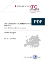 The European Commission in the 21st Century. Core Beliefs on EU Governance