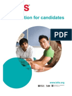Information for Candidates Booklet About IELTS