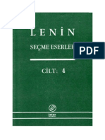 Seçme Eserler Cild -4