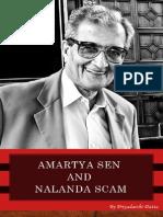 Amartya Sen and The Nalanda Scam by Priyadarshi Dutta