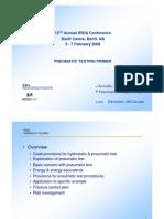 Pneumatic Testing Primer