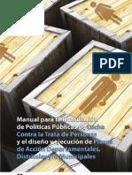 Manual para la formulación de políticas públicas de lucha contra la trata de personas