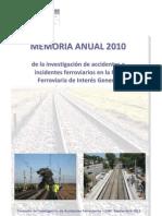 CIAF Informe Anual 2010
