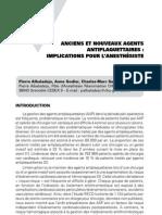 Anciens et nouveaux agents antiplaquettaires - implications pour l'anesthésiste