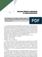 Maladie rénale chronique et anticoagulants