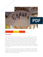 Notas sobre cultura española