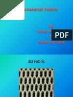 3D fabric