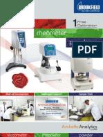 Brookfield Lab Catalog
