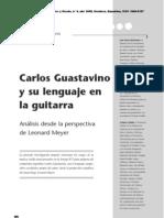 Lenguaje Guastavino Guitarra