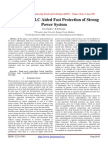 A PLL with FLC Aided Fast Protection of Strong Power System