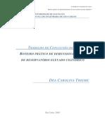 USP-EESC-Roteiro Prático de Dimensionamento de Reservatório Elevado Cilíndrico