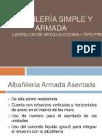 Albañilería armada con ladrillos de arcilla cocida PPT (1)