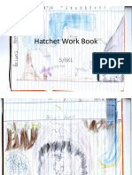 Hatchet Work Book Samples