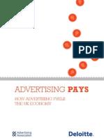 Advertising Pays
