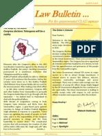 Abhyaas Law Bulletin - August 2013