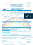 WEC - Under Graduate Admission Form