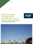 Balance Sheet Management Benchmark Survey