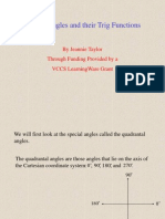 TrigFunctionsofSpecialAngles.ppt