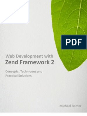 Webentwicklung mit Zend Framework 2 (German Edition)