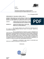 DIRECTIVA DONDE SE PROHÍBE ORGANIZAR Y LLEVAR A CABO FIESTAS Y VIAJES DE PROMOCIÓN