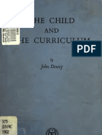 Child and Curriculum